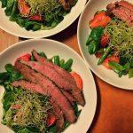 Opskrift: Salat med flanksteak