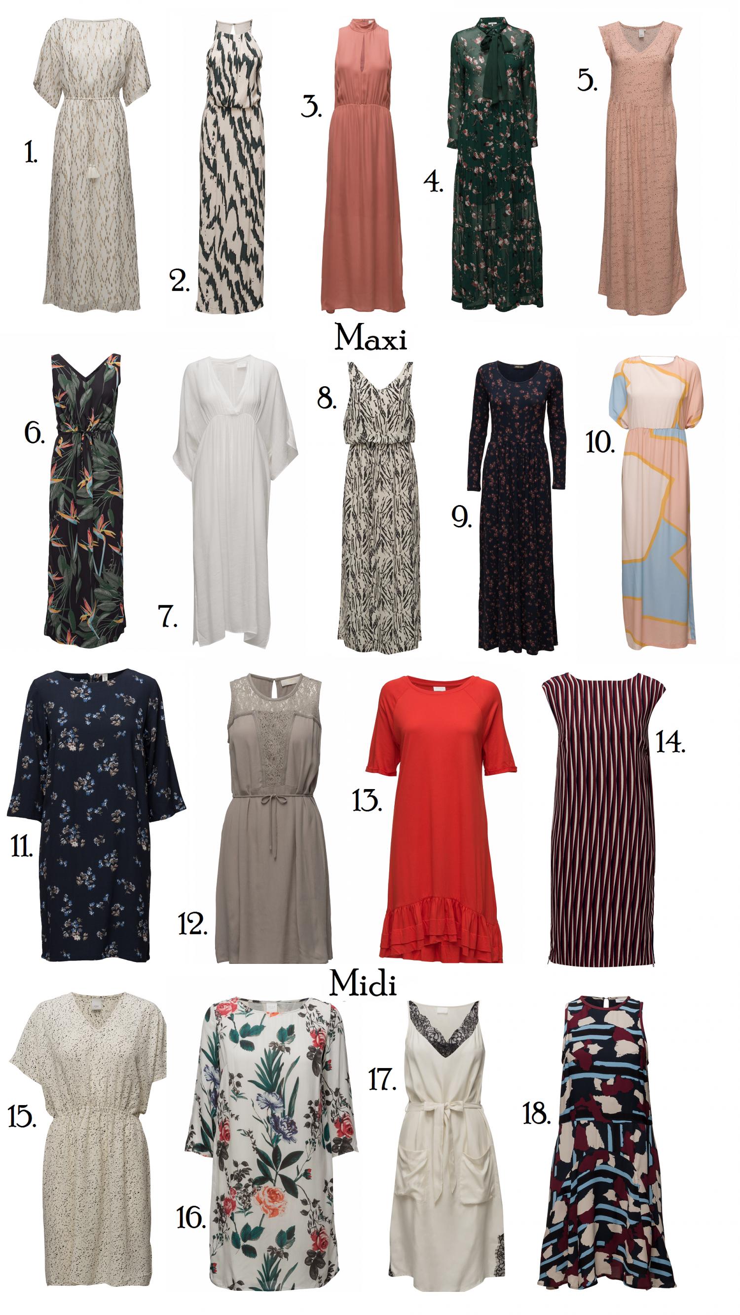 boozt kjoler