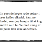 WTF: Roomie-historier #2